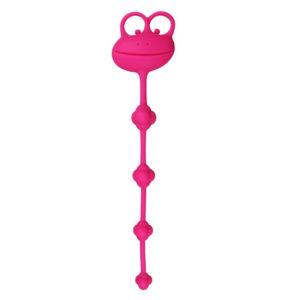 Silicone Frog Anal Beads - Anál gyöngysor