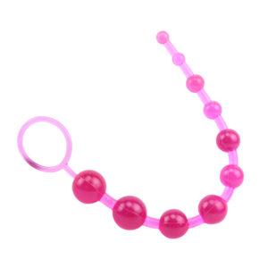 SASSY - Anál gyöngysor, többféle színben 30 cm