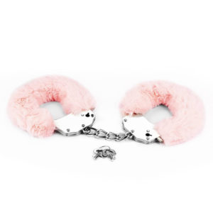 Fetish Pleasure Fluffy Hand Cuffs - Plüss bilincs