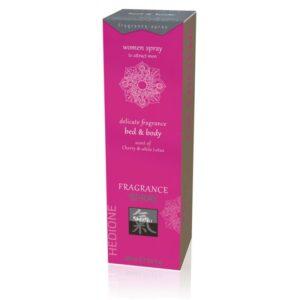 Bed&Body Spray - Vágyfokozó spray cseresznye&lótusz