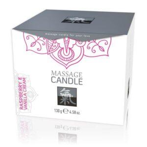 Massage Candle-Raspberry&Vanilla-Masszázsgyertya