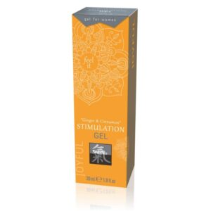 Stimulation Gel Ginger & Cinnamon - Stimuláló gél 30ml