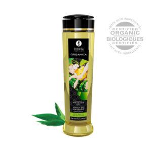 Zöld tea bio masszázsolaj